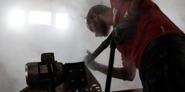 Netoyage à la vapeur dans le secteur de l'industrie agroalimentaire