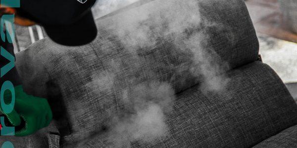 Nettoyage canapés et fauteuils à la vapeur